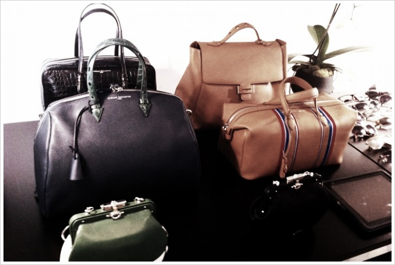 MYRIAM SCHAEFER, pure & classic luxury bags collection