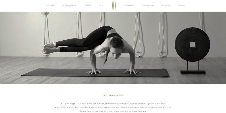 tigre yoga